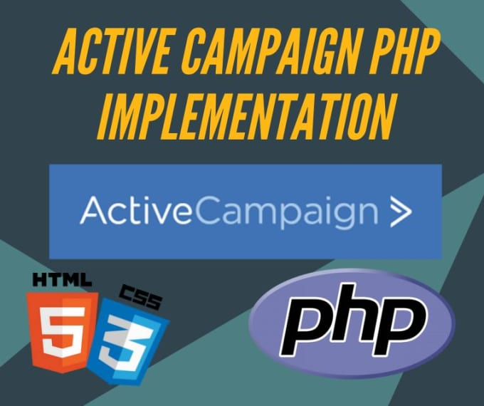 do active campaign api PHP implementation