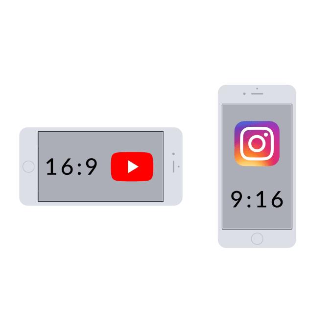 convert to 9 16 aspect instagram video 916 igtv ads vertical portrait