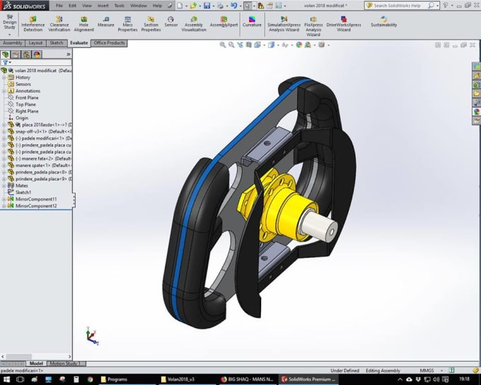 create 2d and 3d models using solidworks professionally