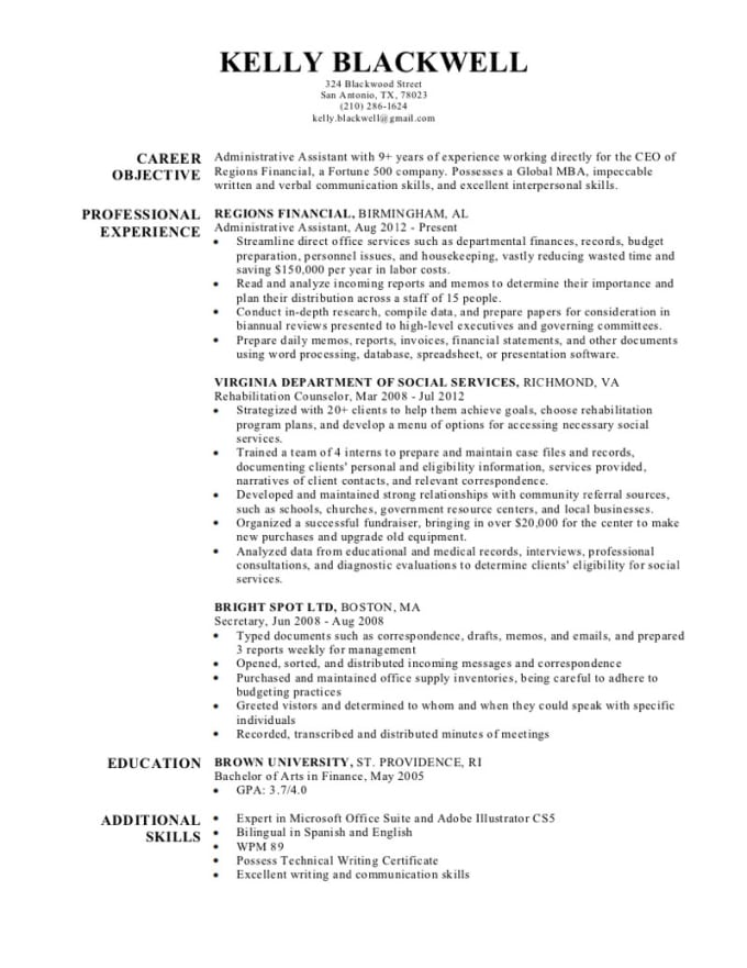 Create and rewrite resume and cover letter for you by ...
