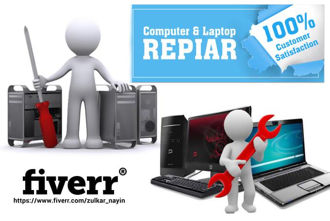 remove virus and computer repair