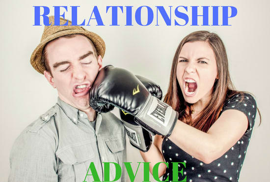 destobe : I will give advice for your relationship problems for $5 on  www fiverr com