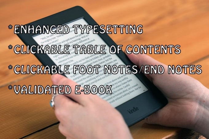 Do Ebook Formatting In 12 Hrs