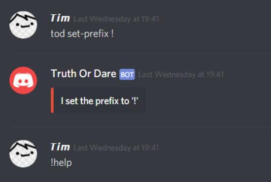 code a discord bot