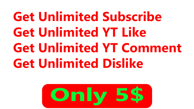 gausulazam : I will sell youtube subcribe for your channel for $5 on  www fiverr com