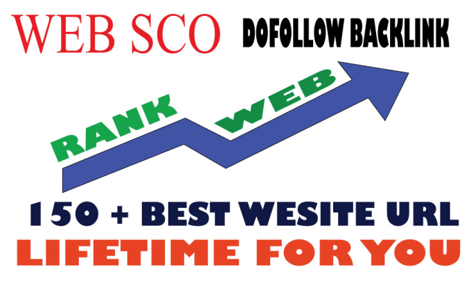 Provide 150 plus dofollow backlink website url for you by