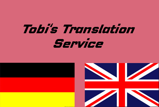 german to english translation, english to german translation