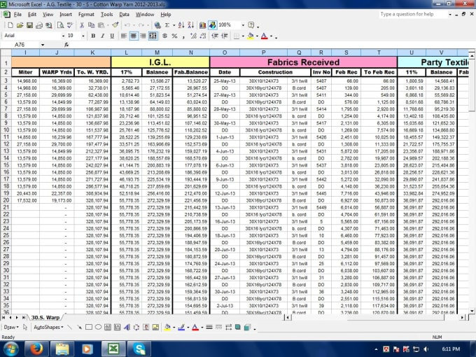 e41ff0268d6d1 Do excel row data entry with formula and function by Labonirsr