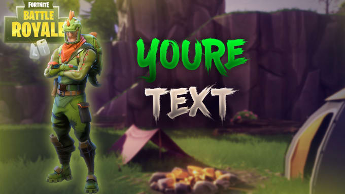 fallingseven : I will create fortnite thumbnails for you for $5 on  www fiverr com