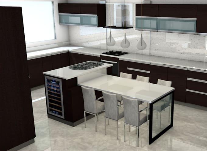 voy a crear diseños cocinas para tus proyectos