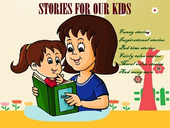 write inspirational and funny stories for your kids