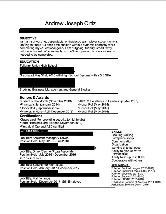 Make You A Outstanding Resume By Codyortiz239