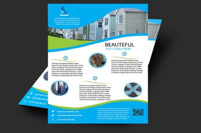 design flyers for your business by chris blais