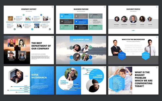 do a professional startup vc pitch presentation by richujose