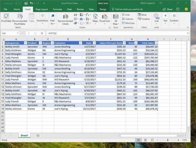 michael0077 : I will create excel spreadsheet with formula for $5 on  www fiverr com