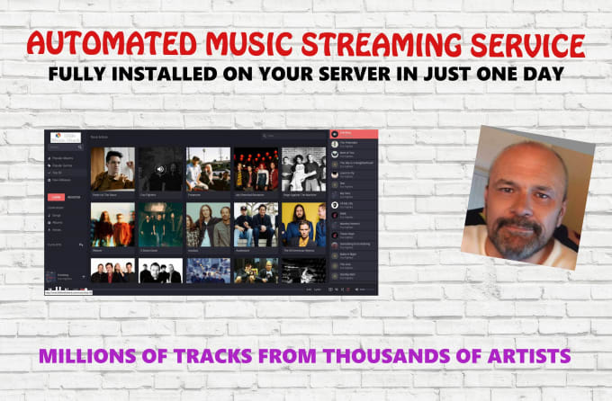 install your own music streaming service like spotify