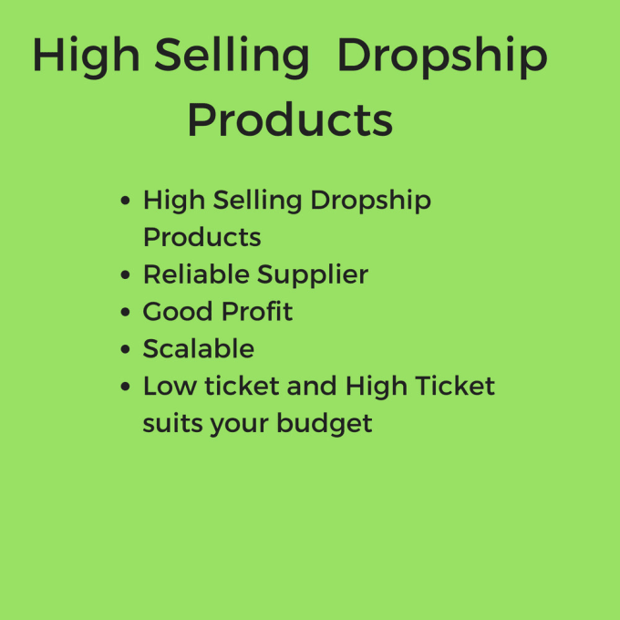 hot selling dropship products in UK