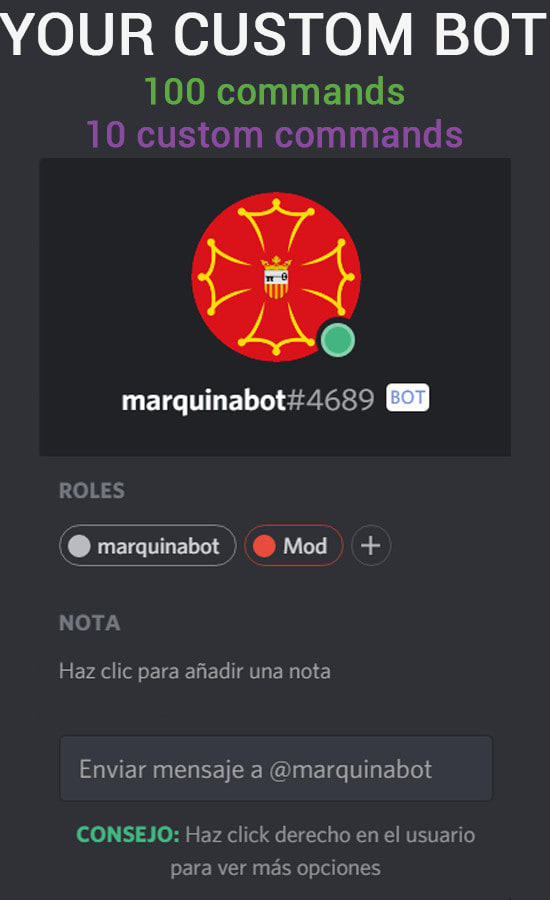 create a discord bot for your server