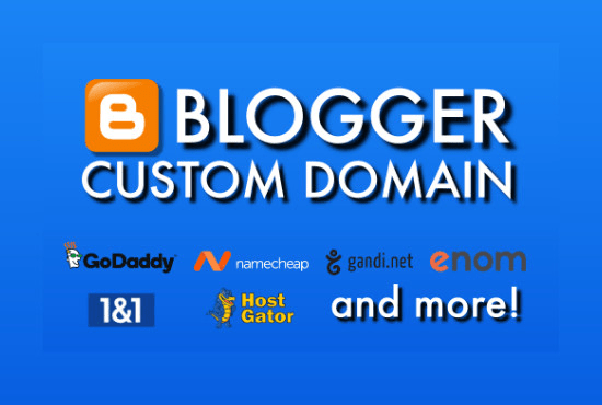scratchtheweb : I will setup custom domain for blogger for $5 on  www fiverr com