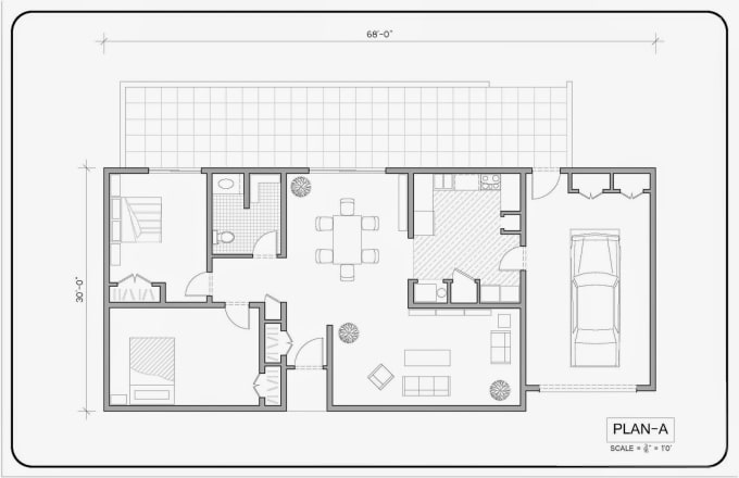 Design With All Autocad Drawings 3d Model Rendered Views By