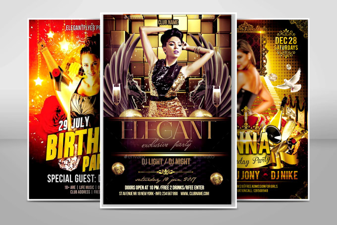 be the best party flyer and event flyer designer for you by