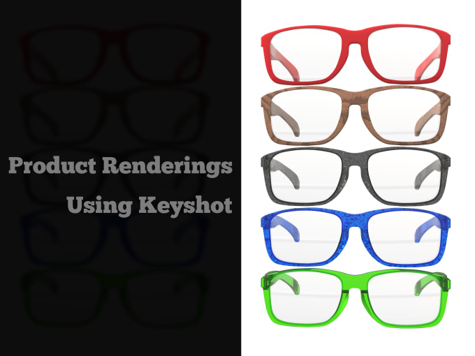 render your product using keyshot