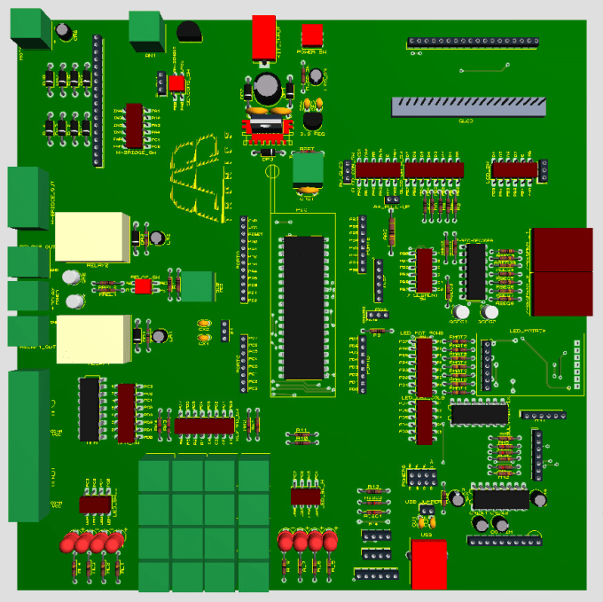 design schematic and pcb layout