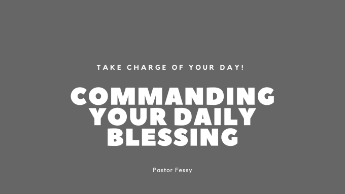 pray and give you prayer declarations to command your day