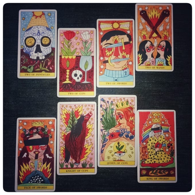 give you a tarot reading