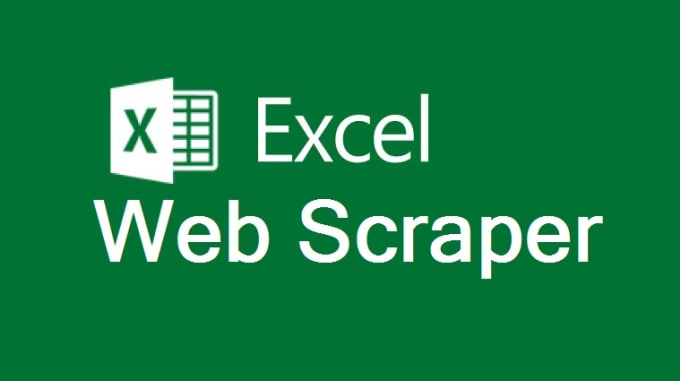 an awesome excel web scraper for you