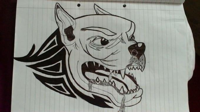 Draw Tribal Tattoo Designs