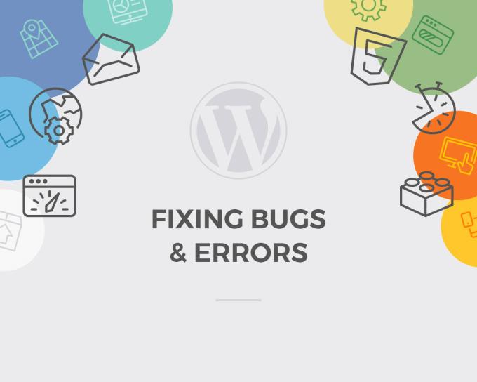 Fix a wordpress bug or do customisation by Mayurmarwa