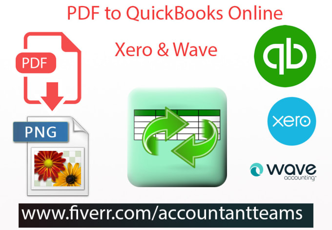 Import Pdf Bank Statements Into Quickbooks Online And Xero By