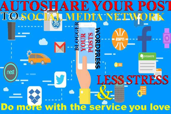 auto share articles or products to 20 social media platforms
