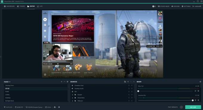 setup your twitch channel and streamlabs obs