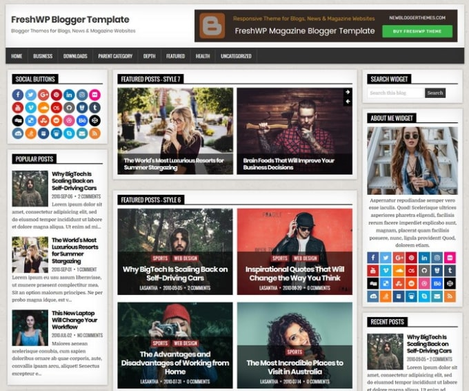 keshavchawla259 : I will create a professional blogger website mobile  responsive for $5 on www fiverr com