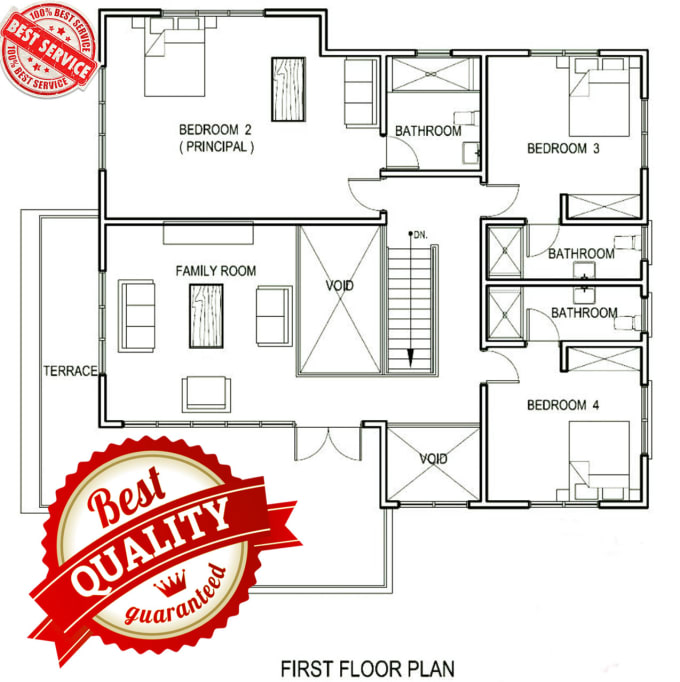 Design Your Floor Plan In Auto Cad As Per Your