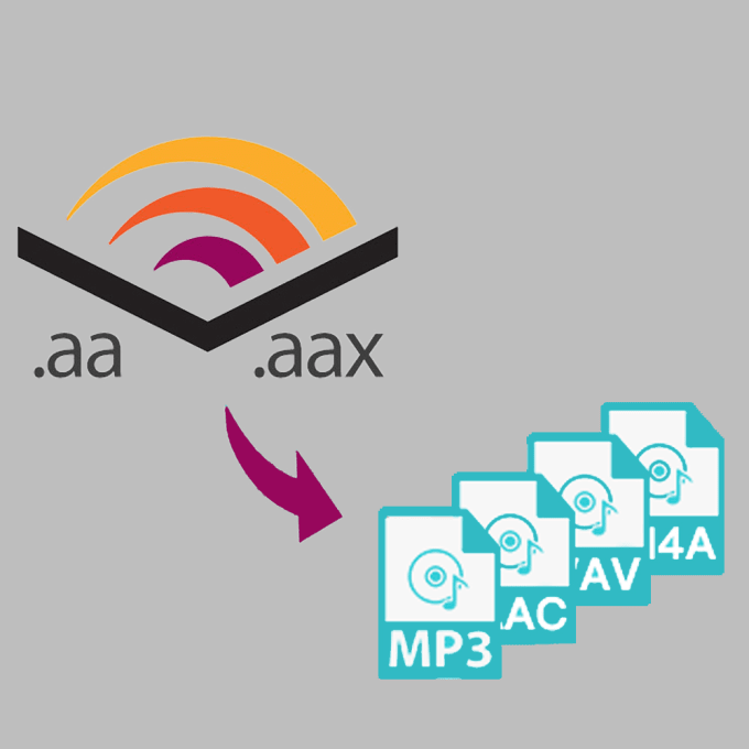 audioebooks : I will convert your audible file to mp3 for $5 on  www fiverr com
