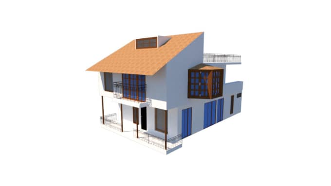 do your floor plan and 3d model with autocad and sketchup