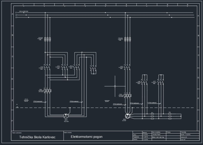 Electrical Schematic Design on