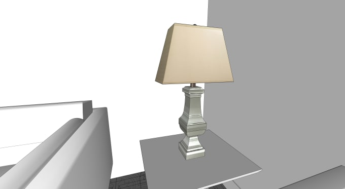 vaishali0405 : I will 3d model your designed furniture in sketchup or rhino  for $20 on www fiverr com