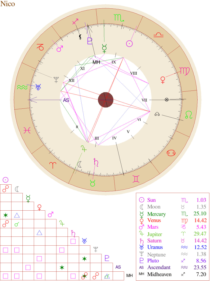 Let Me Read And Explain Your Natal Chart By Cosmosexplained