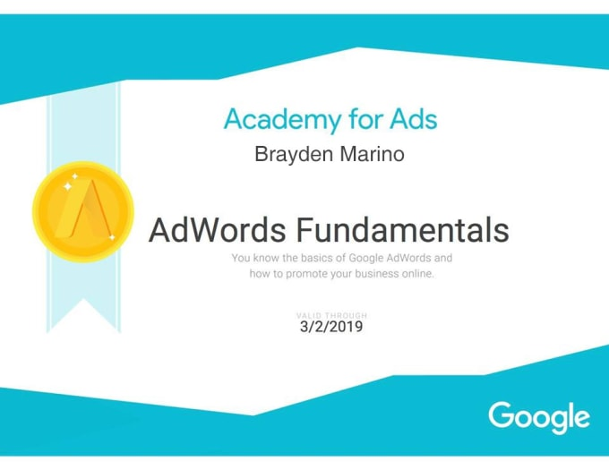 Help you become google adwords certified by Anamikasehgal
