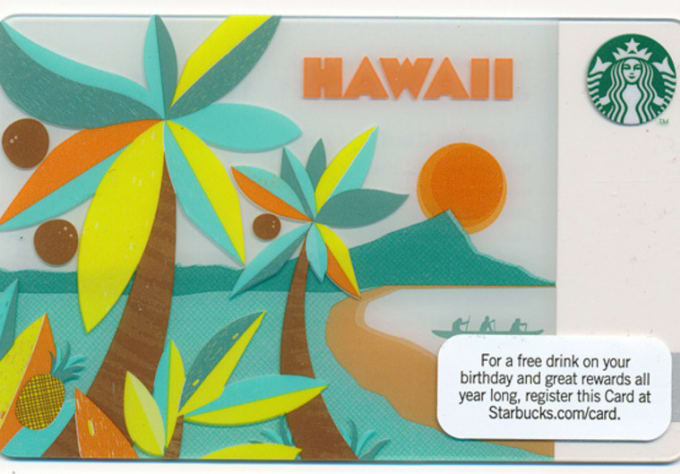 I Will Send You A Hawaii Starbucks Gift Card