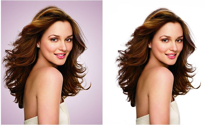 removing white background in photoshop