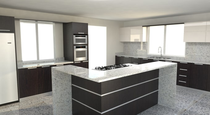 maylemcristina : I will do 3d rendering of interior design like liveroom,  bathroom, kitchens and more for $5 on www.fiverr.com