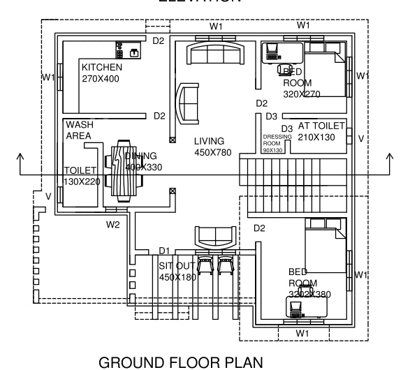 salmanahammed : I will do autocad drawing, floor plans, elevations,  sections for $5 on www fiverr com