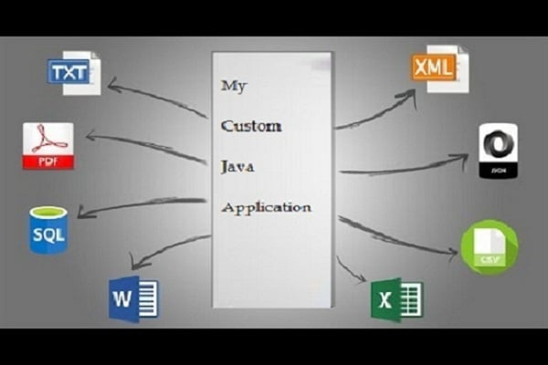 extract, parse, export data from xml, excel, csv, database, text files, json