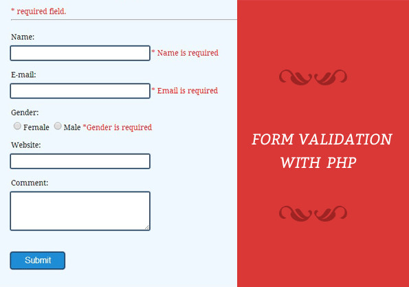 Make A Form With Html Css Bootstrap Php With Validation By Haroonzuberi