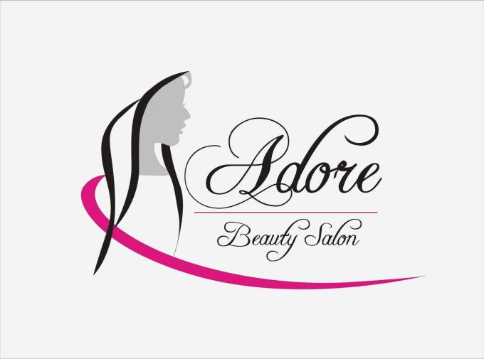 do your imagination cosmetics ans salon logo design in high